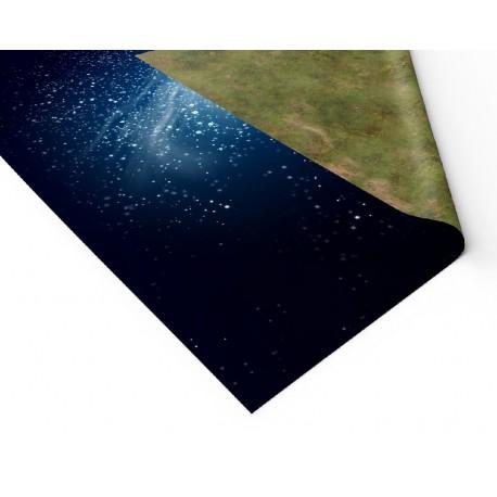 "Galaktyka spiralna 72"" x 36"""