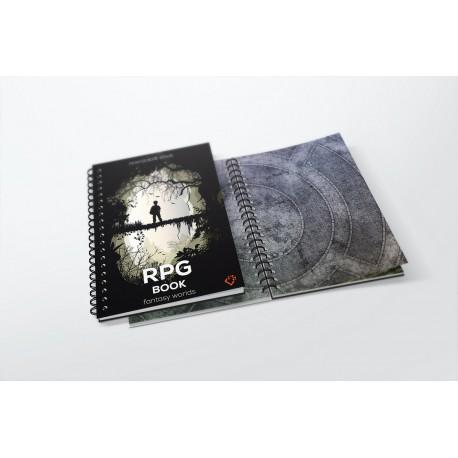 Księga RPG A3 - siatka kwadratów