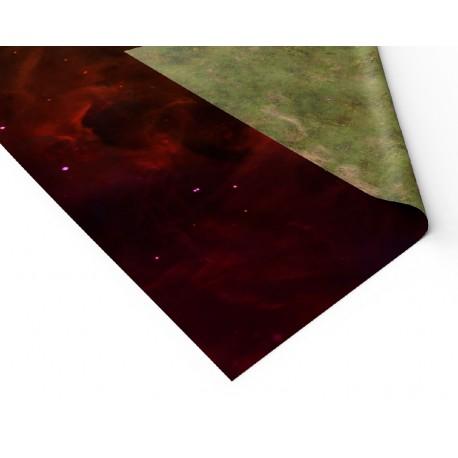 """Czerwona mgławica 44"""" x 90"""""""